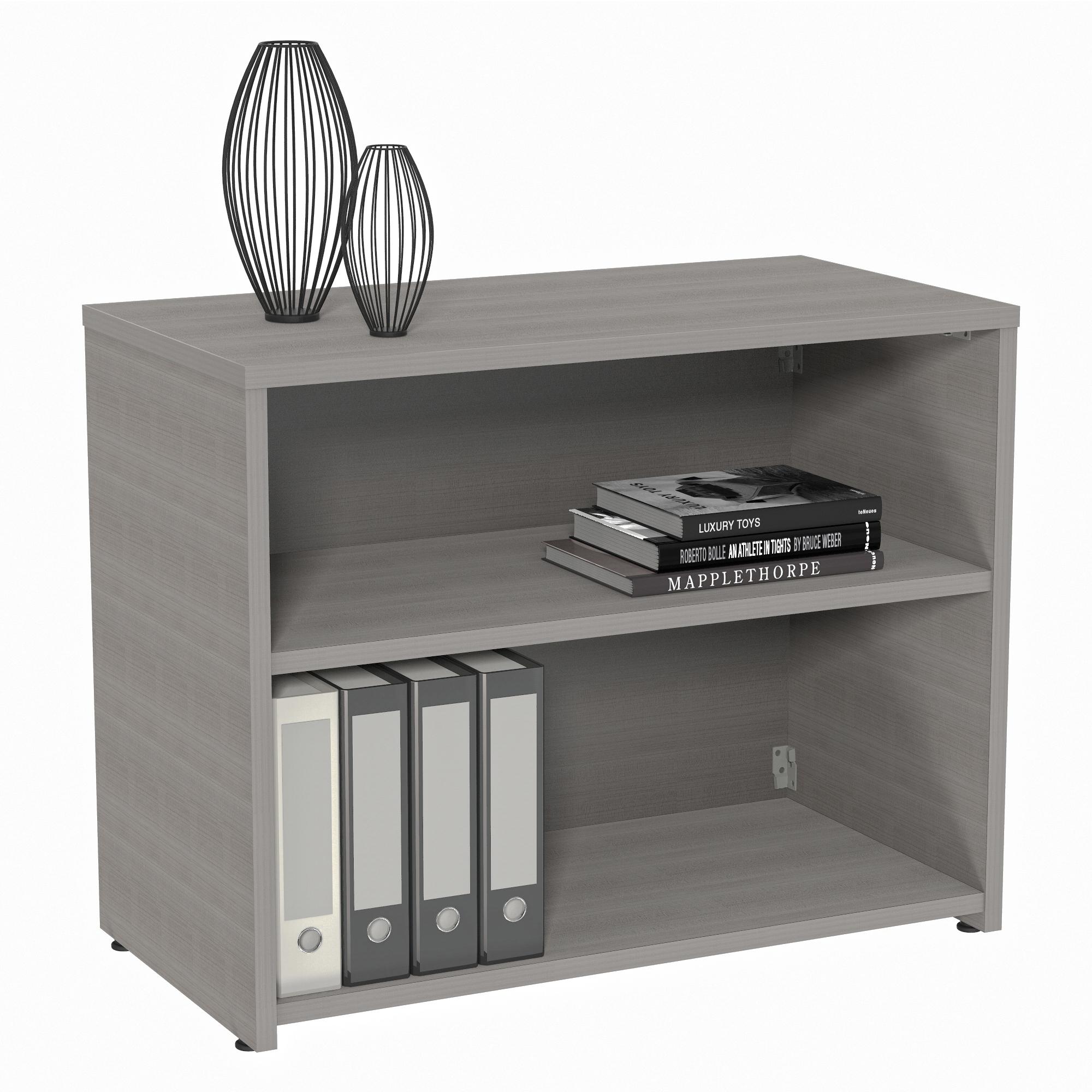 Urban Credenza Storage Modern Bookshelf Credenza 36 Wx16 Dx24 H Linea Italia Furniture